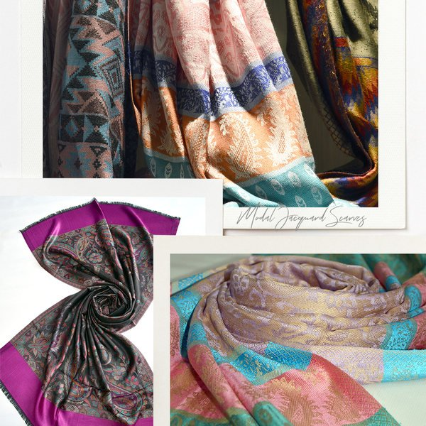 wholesale modal scarves made in india