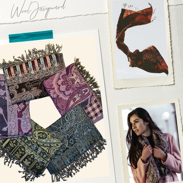 merino wool shawls and scarves made in india