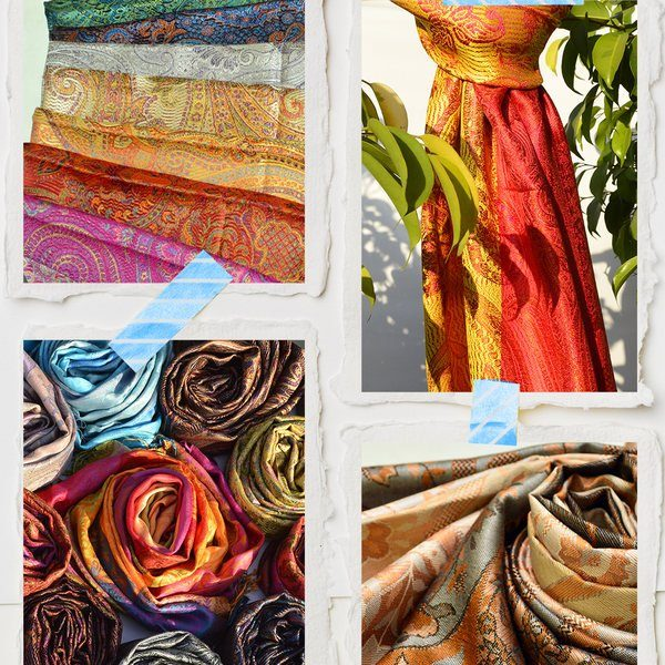 wholesale silk scarves and shawls
