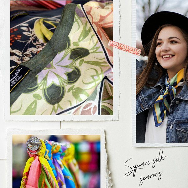 design your own silk scarves