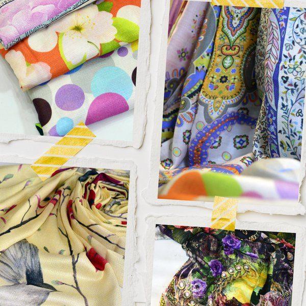 design your own scarves - digital print modal scarves