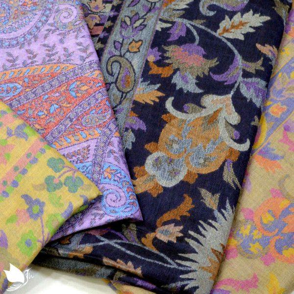 latest shawl and scarf design of kashmiri shawls