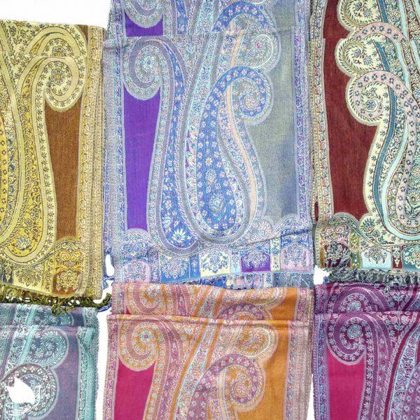 lightweight viscose muffler scarves made in india