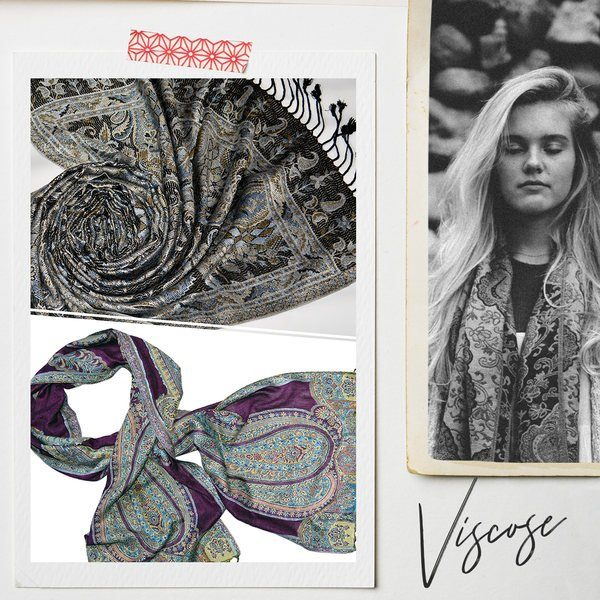 wholesale shawls and scarves made from viscose