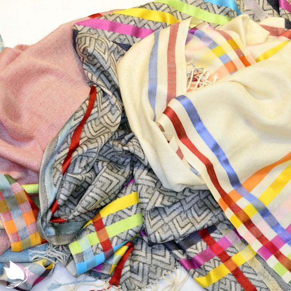 wool-shawls-with-silk-stripes-sharma-handicrafts
